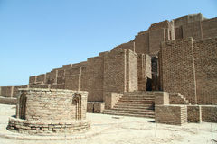 Brick ziggurat Stock Photography