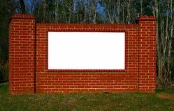 brick znak Zdjęcie Royalty Free