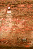 BrickAlley Royalty Free Stock Images