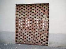 bricked дверь вверх Стоковое Фото