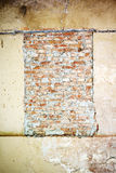 Bricked acima do indicador Fotos de Stock
