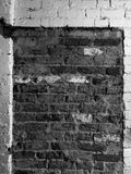bricked dörröppning upp royaltyfri foto
