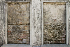 Bricked doorways Stock Photography