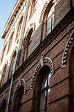 Bricked-Haus Lizenzfreies Stockbild