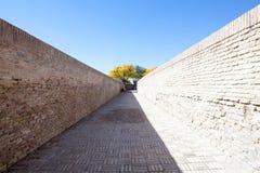 Bricked labyrinth at Chor Bakr royalty free stock photos