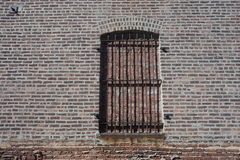 Bricked Up Window Royalty Free Stock Images