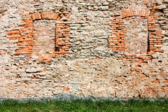 Bricked up windows Stock Images
