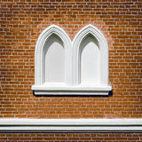 Bricked-up Windows Stock Image