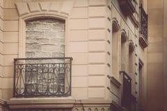 bricked upp fönster arkivbilder
