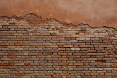 Bricked wall in Venice Stock Photos