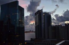 Brickell-Ansicht Lizenzfreies Stockfoto
