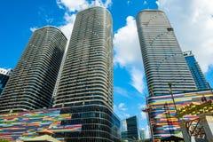 Brickell-Höhen Miami lizenzfreies stockbild