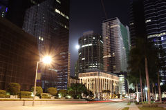 Brickell Miami Royalty Free Stock Photography