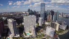 Brickell Miami stock footage