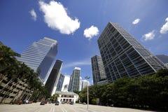 Brickell Miami Architecture Stock Image