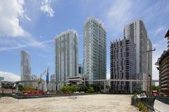 Brickell Miami cityscape Royalty Free Stock Photography