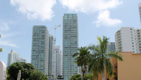 Brickell miami cityskape Royalty Free Stock Photo