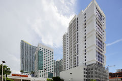 Brickell Miami FL Royalty Free Stock Photo