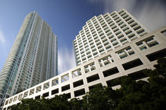 Brickell Miami skyscrapers Stock Photo