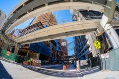 Brickell-Stadtzentrum Stockbilder
