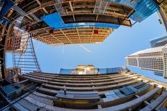 Brickell-Stadtzentrum Lizenzfreies Stockfoto