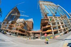 Brickell-Stadtzentrum Lizenzfreie Stockbilder