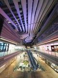 Brickell-Stadtzentrum in Miami, nachts lizenzfreies stockfoto