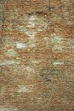 bricken den gammala väggen Arkivfoton