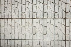 Brickface resistido Fotografía de archivo libre de regalías