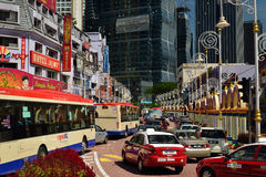 Brickfields, Kuala Lumpur Fotografia de Stock Royalty Free