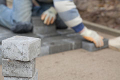 Bricklayer Royalty Free Stock Image