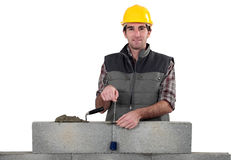 Bricklayer Stock Image