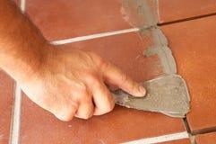 Bricklayer Royalty Free Stock Photo