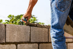 Bricklayer Stock Photography