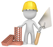 The Bricklayer. Stock Photography