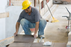 Bricklayer Royalty Free Stock Photo