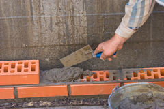 Bricklaying Stock Photos