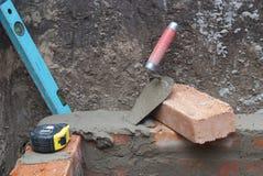 Bricklaying Stock Photos