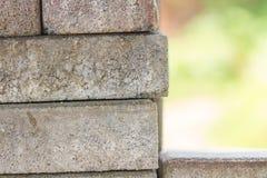 Bricklaying - pile of bricks Royalty Free Stock Images