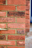 Bricklaying - pointing render Royalty Free Stock Images