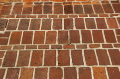 Bricks. Wall made of red brick stock photography