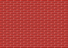 Bricks. Vector background of bricks in the wall Stock Photography
