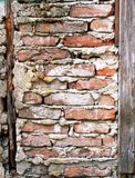 Bricks. Wallpaper: old bricks and wall Royalty Free Stock Photos