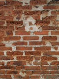 Bricks. Wall made of red/orange bricks in a pattern Stock Photos