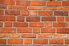 Bricks. High resolution red brick background Stock Photo
