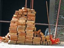 Bricks. Pile of bricks Stock Photo