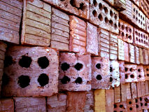 Bricks. From Egypt used for built Royalty Free Stock Photography