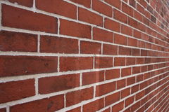 Bricks. A view of a brick wall Royalty Free Stock Photos