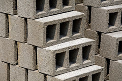 Bricks. Some bricks ready to be sold Stock Image