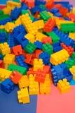 Bricks. Close up of colourful bricks Royalty Free Stock Photos